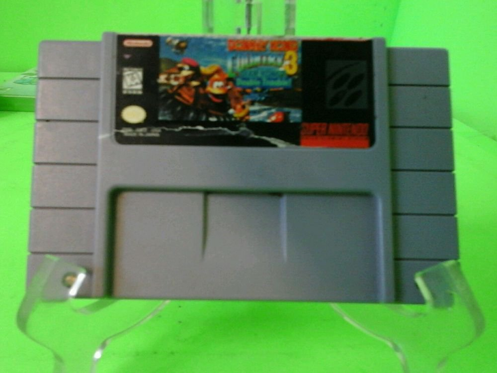 Donkey Kong Country 3: Dixie Kong's Double Trouble (Nintendo SNES, 1996)