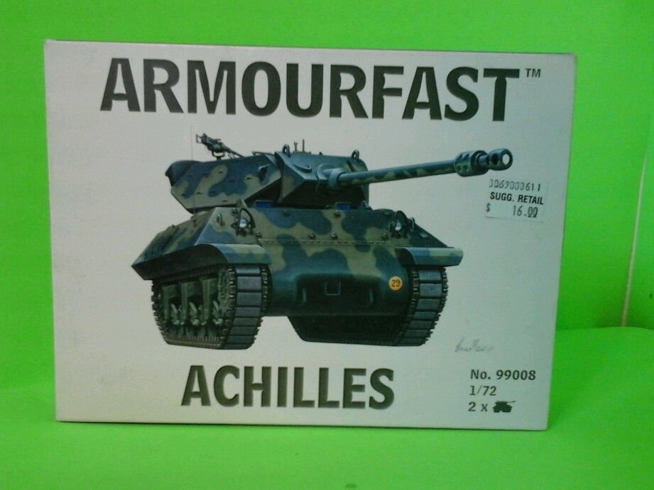 Armourfast 1:72 #99008 Achilles (New) includes 2 tanks