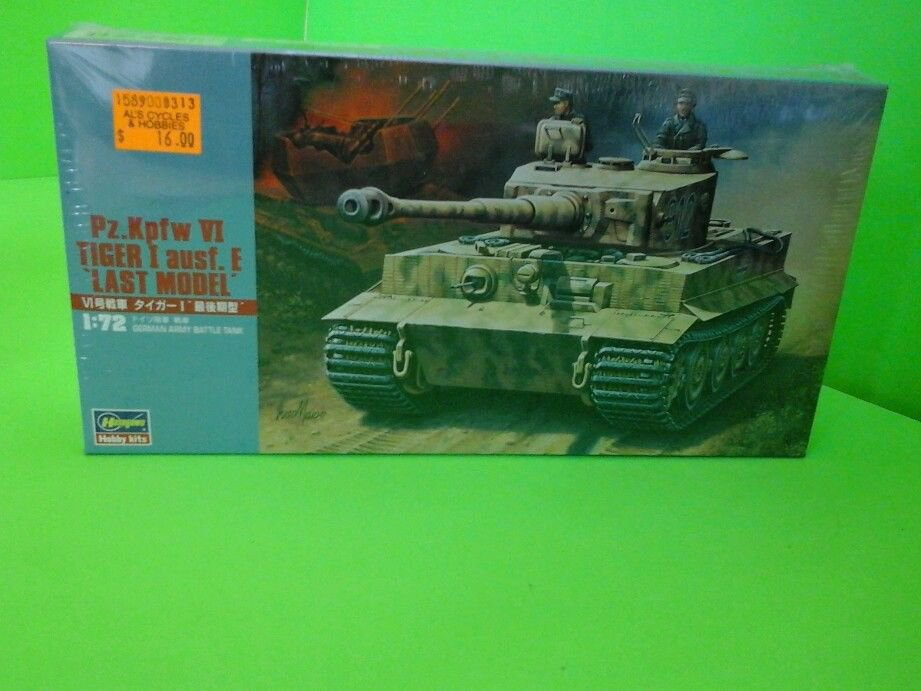 1/72 HASEGAWA 31136 Pz.Kpfw VI Tiger I Ausf.E Last Model BRAND NEW SEALED