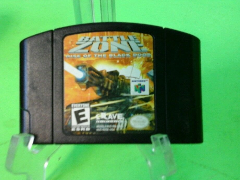 Battlezone: Rise of the Black Dogs  (Nintendo 64, 2000)