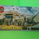 1/72 model WWII Airfix vintage 40mm Bofors Gun & tractor kit