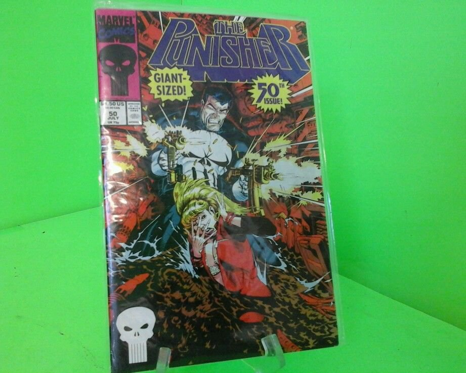The Punisher 50th issue Giant sized Fast Free Shipping