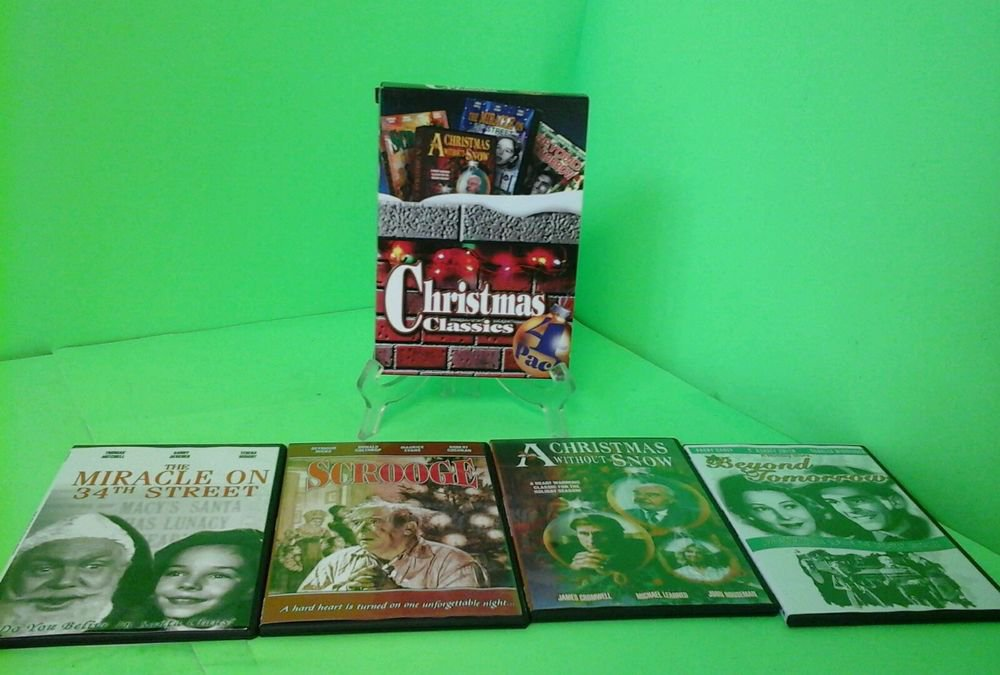 Christmas Classics - 4-Pack (DVD, 2006, 4-Disc Set) FAST FREE SHIPPING 4 movies
