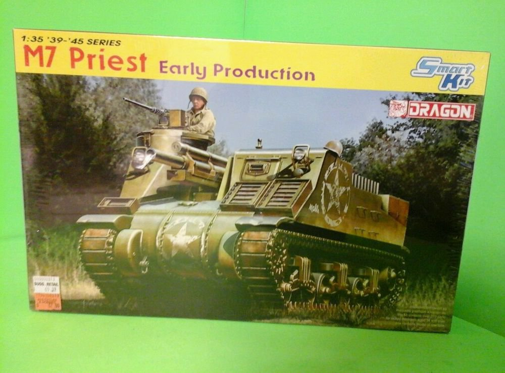 Dragon 1/35 6627 M7 PRIEST EARLY PRODUCTION FACTORY SEALED BOX!