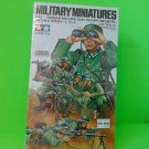 Tamiya Military Miniatures German Machine Gun Troops Set Model Kit #38 1:35 NEW