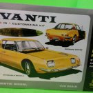 AMT Studebaker Avanti 3 in 1 model kit 1/25  50th anniversary edition NEW SEALED