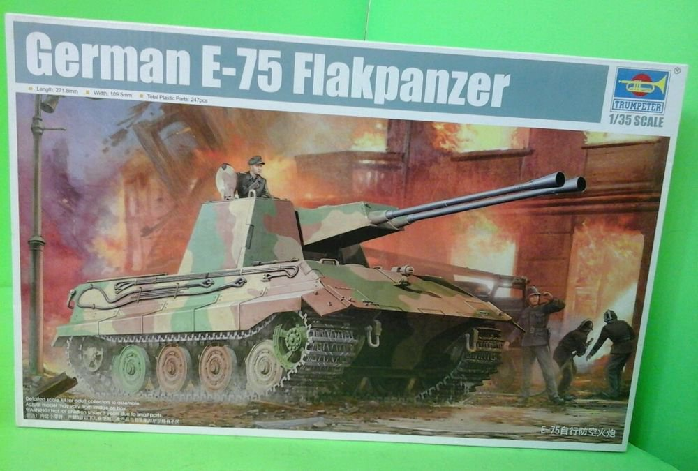 Trumpeter 1/35 E-75 Flakpanzer  #01539 #1539 FAST SHIPPING