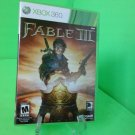 XBOX 360 Fable III 3 (Xbox 360, 2010) Complete FAST FREE SHIPPING