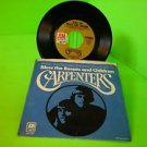 "CARPENTERS ""SUPERSTAR / BLESS THE BEASTS AND CHILDREN"" 45w/PS FREE SHIPPING"