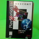 Descent Playstation PS1 Black label! Longbox FREE SHIPPING! NO FOAM INSERT!