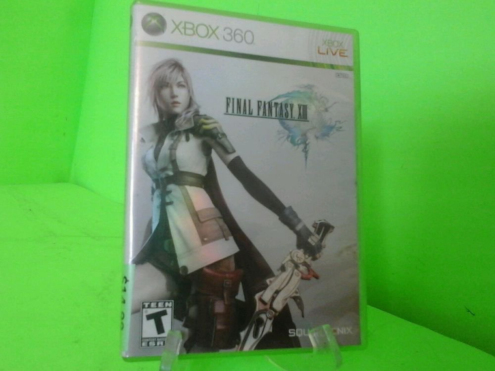 Final Fantasy XIII (Microsoft Xbox 360, 2010)  Complete FAST FREE SHIPPING