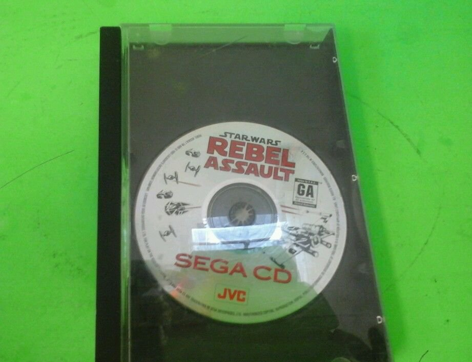 Star Wars: Rebel Assault  (Sega CD, 1993)