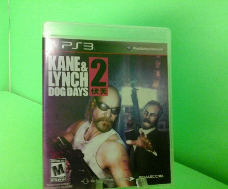 Kane & Lynch 2: Dog Days  (Sony Playstation 3, 2010) COMPLETE FAST FREE SHIPPING