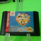 ANIMANIACS ( sega genesis 1994 ) cartridge only tested