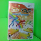 Let's Tap: Nintendo  Wii, 2009 COMPLETE FAST FREE SHIPPING