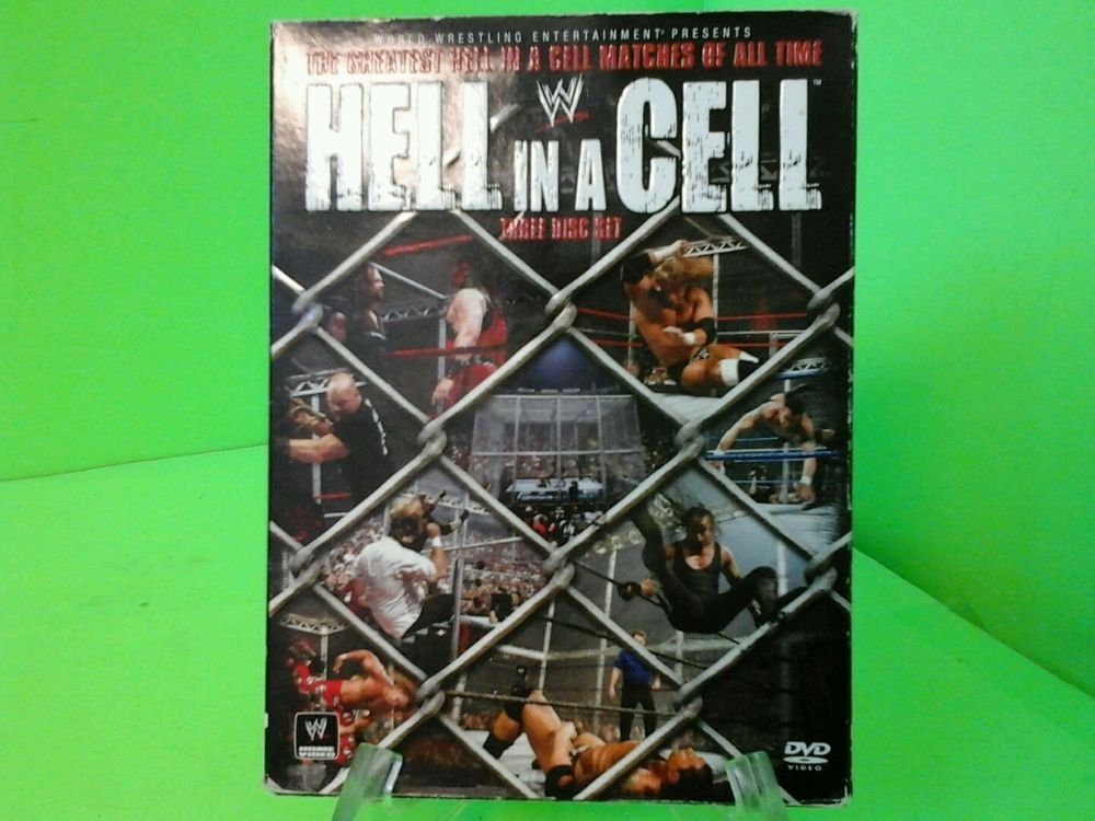 Wwe Hell In A Cell Dvd 2008 Three Disc Set
