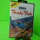 Thunder Blade COMPLETE IN BOX CIB (Sega Master System SMS) FREE SHIPPING