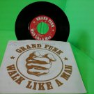 Grand Funk Railroad - Walk Like A Man / The Railroad 45 rpm 1973  FREE SHIPPING