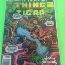 Marvel Comics Group Marvel Two-In-One The Thing and Tigra issue 19 Free shipping