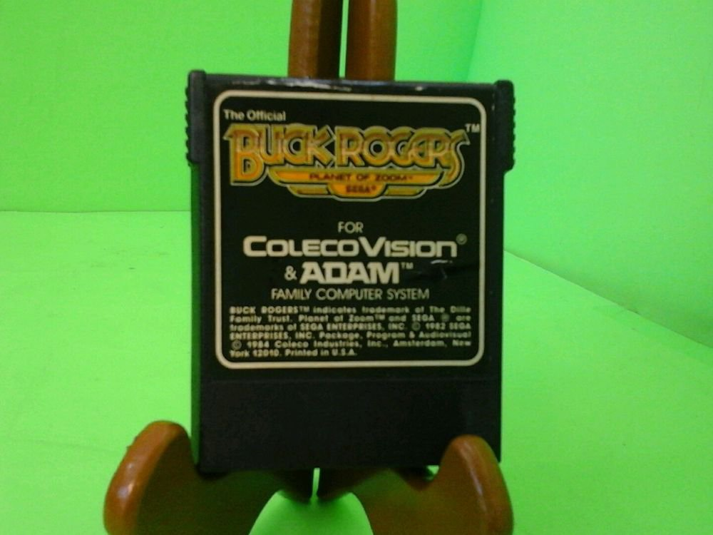 Buck Rogers Planet of Zoom Coleco Colecovision TESTED WORKING FREE SHIPPING