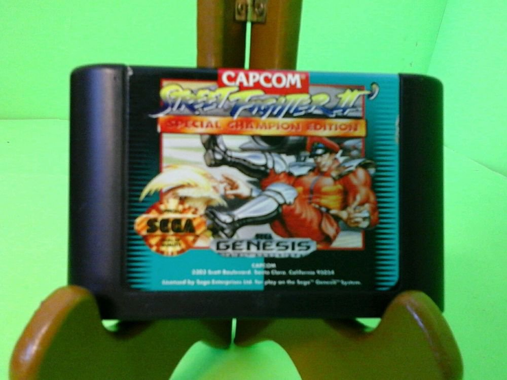 Capcom Street Fighter II 2 Sega Genesis  Special Champion Edition FREE SHIPPING