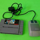 Mario Paint Nice Label SNES With Mouse Tested To Work Ships Fast!