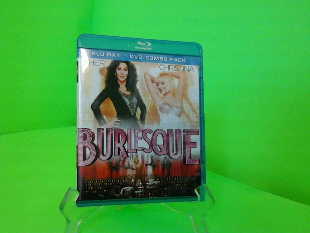 Burlesque (Blu-ray only , 2011) Cher, Christina Aguilera FAST FREE SHIPPING