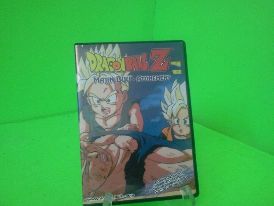 Dragon Ball Z: Majin Buu - Atonement DVD FAST FREE SHIPPING