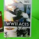 WWII Aces  (Nintendo Wii, 2008)  Complete Free Shipping