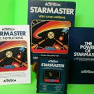 Atari 2600 Starmaster CIB cart instruction book box Complete  FAST FREE SHIPPING