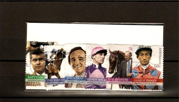 recent 2007 Australia horse race legends set
