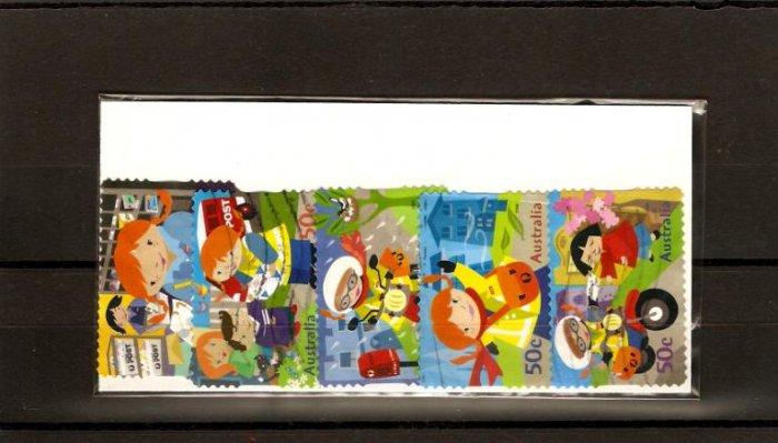 recent 2006 postie kate Australia stamp set