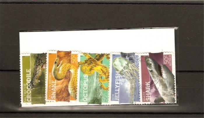 recent  2006 Australia dangerous Australians stamp set