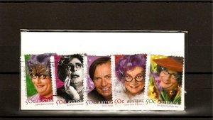 recent 2006 Australian legends stamp set