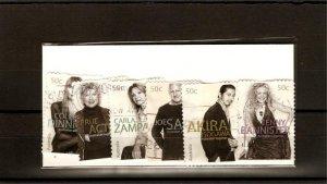 recent 2005 Australia fashion designers stamp set