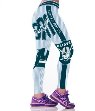 Oakland Raiders Bo Jackson Womens Leggings