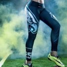 Philadelphia Eagle NFL Womens Leggings Fitness Gym