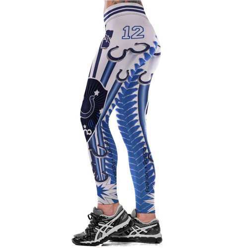 Indianapolis Colts Andrew Luck Sexy Womens Leggings Fitness 2017