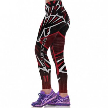 Atlanta Falcons Julio Jones Womens Leggings Fitness Gym 2017