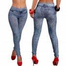 Women Denim Leggings Pants Spring Thin Denim Jeans Fashion Blue