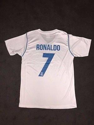 New Real Madrid Home Cristiano Ronaldo Soccer Jersey football Shirt 2017 2018