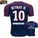 Neymar Jr. #10 Paris Saint-Germain Home Jersey 2017-18
