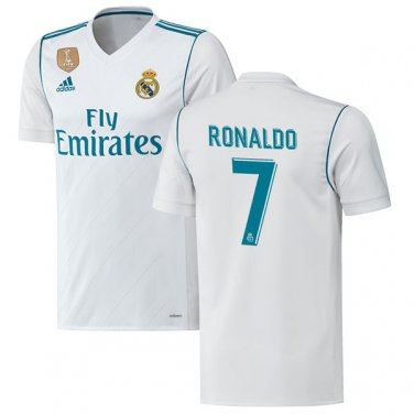 2017/18 Ronaldo Real Madrid Home Jersey
