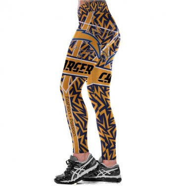 2017 Los Angeles Chargers NFL Womens Leggings Fitness Gym