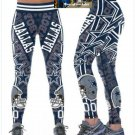 New Dallas Cowboys  Womens Leggings  Yoga Stretch Athletic