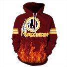 NFL Washington Redskins  Football Team Sport Hoodie
