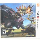 Nintendo 3DS Monster Hunter 4 Ultimate NEW SEALED Ships Same Day