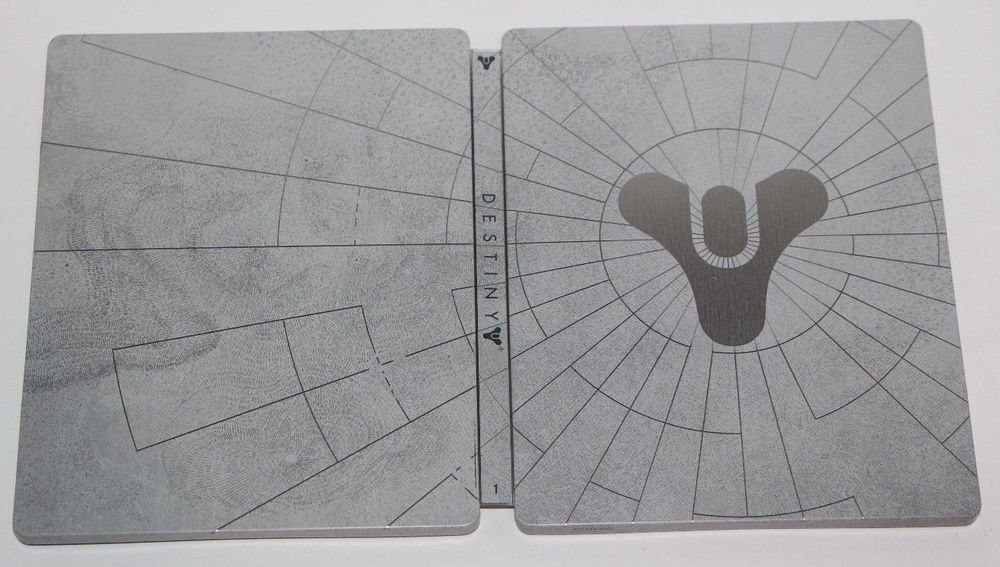 PS3 PS4 XBOX G2 Destiny Collectors GHOST LIMITED EDITION STEELBOOK CASE ONLY NEW