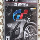 PlayStation 3 PS3 GRAN TURISMO 5: XL EDITION NEW Sealed Ships Same Day!