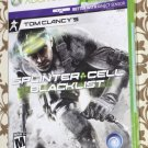 Xbox 360 TOM CLANCY'S SPLINTER CELL: BLACK LIST NEW SEALED NTSC US/Canada